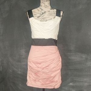 Fun colorblock dress